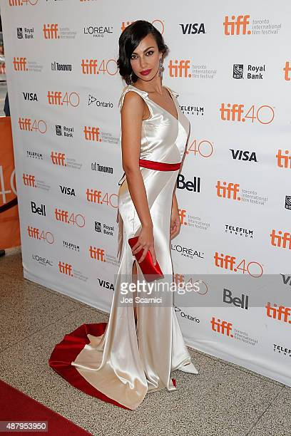 Madalina Diana Ghenea attends 2015 Toronto International Film Festival 'Youth' Premiere at The Elgin on September 12 2015 in Toronto Canada