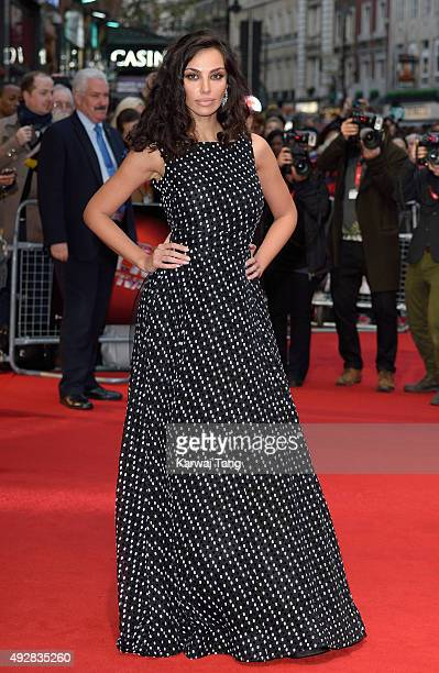 Madalina Ghenea attends a screening of 'Youth' during the BFI London Film Festival at Vue West End on October 15 2015 in London England