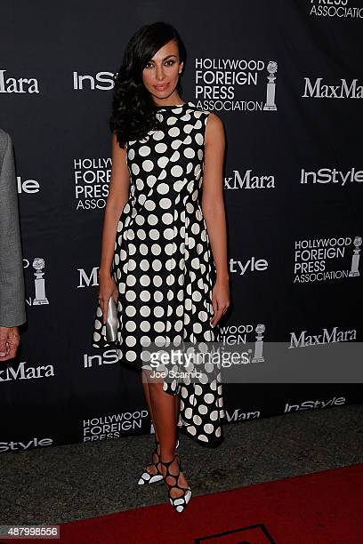Madalina Ghenea attends HFPA/InStyle's Annual TIFF Celebration at Windsor Arms Hotel on September 12 2015 in Toronto Canada