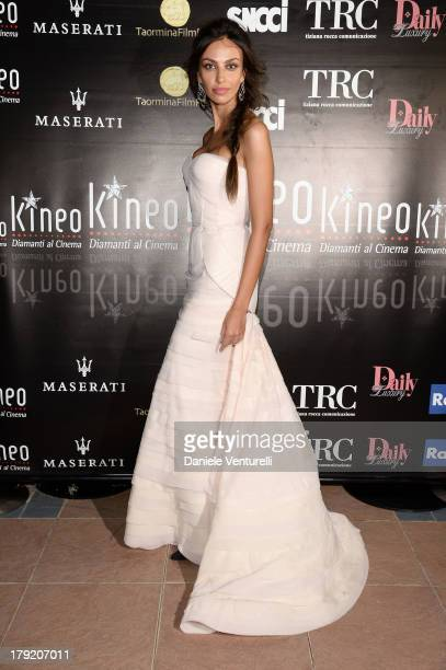 Madalina Ghenea attends Premio Kineo Ceremony during the 70th Venice International Film Festival at Terrazza Maserati on September 1 2013 in Venice...