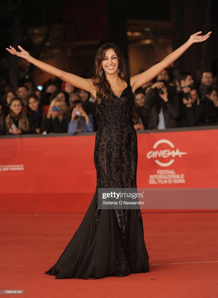 Madalina Ghenea attends 'Razza Bastarda' Premiere during The 7th Rome Film Festival on November 17, 2012 in Rome, Italy.