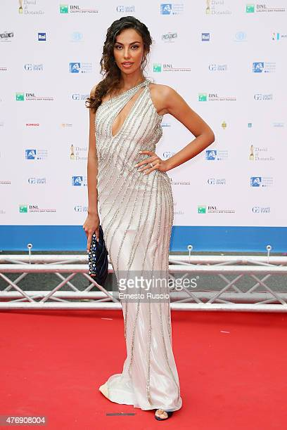 Madalina Ghenea attends the '2015 David Di Donatello' Awards Ceremony at Teatro Olimpico on June 12 2015 in Rome Italy