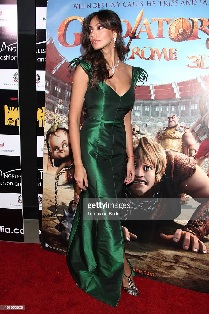 Madalina Ghenea attends the 8th annual Los Angeles Italia Film, Fashion and Art Festival opening night ceremony held at Mann Chinese 6 on February 17, 2013 in Los Angeles, California.