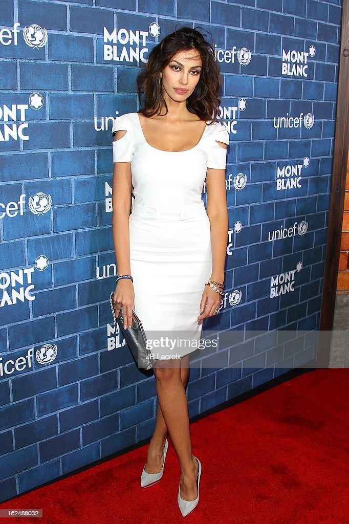 Madalina Ghenea attends the Montblanc and UNICEF pre-Oscar brunch celebrating their limited edition collection at Hotel Bel-Air on February 23, 2013 in Los Angeles, California.
