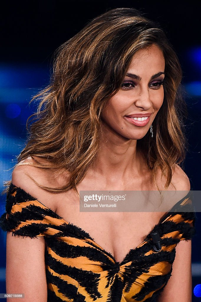 Madalina Ghenea attends the opening night of the 66th Festival di Sanremo 2016 at Teatro Ariston on February 9, 2016 in Sanremo, Italy.