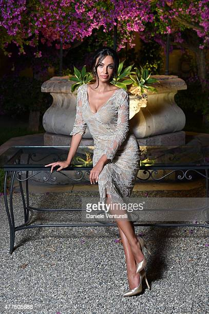 Madalina Ghenea attends the Shiseido And Vanity Fair Gala Dinner 61st Taormina Film Fest at Hotel San Domenico on June 17 2015 in Taormina Italy