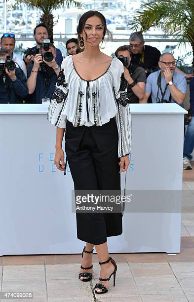 Madalina Ghenea attends the 'Youth' photocall during the 68th annual Cannes Film Festival on May 20 2015 in Cannes France