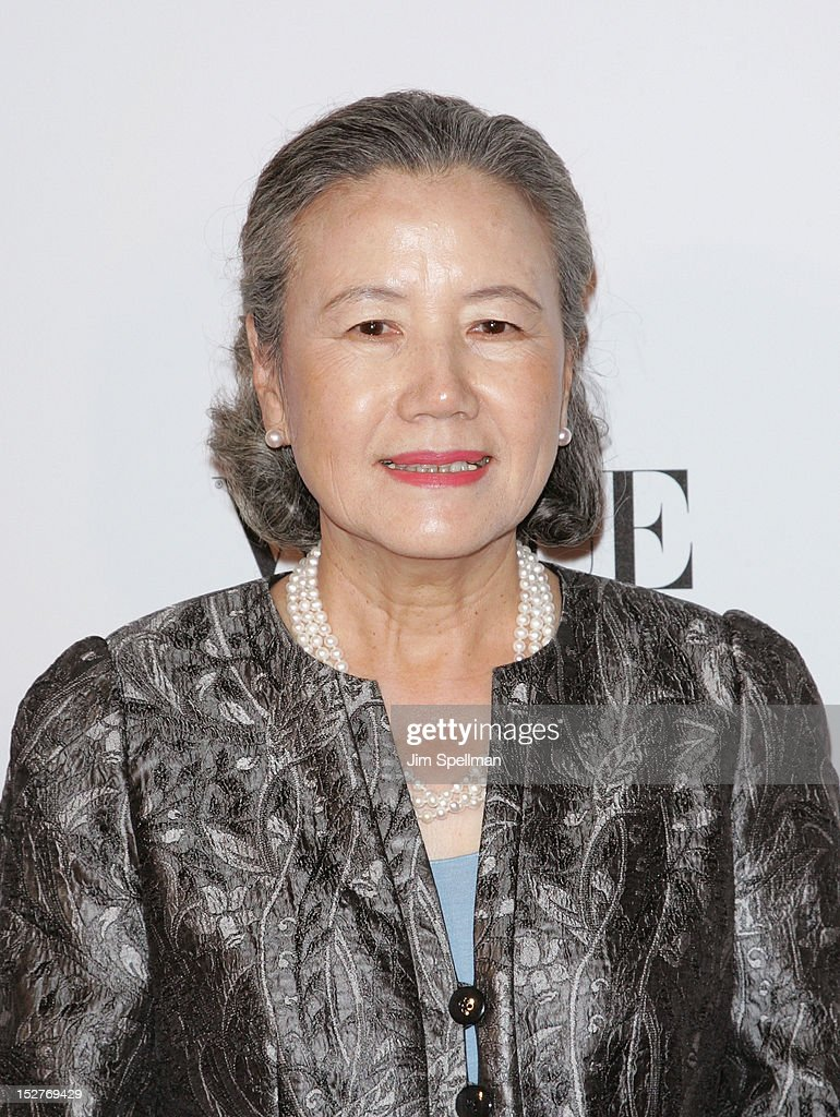 Madam Ban Soon-taek attends the 2nd Annual Fashion 4 Development First Ladies Luncheon at The Pierre Hotel on September 25, 2012 in New York City.
