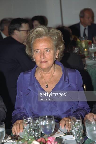 Madame Bernadette Chirac wife of the French pre sident The reception was held in the same locat ion as the antiques show which features 7000 items...