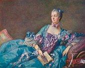 Madame de Pompadour after an original by Francois Boucher Madame de Pompadour Born JeanneAntoinette Poisson Madame de Pompadour was the mistress of...