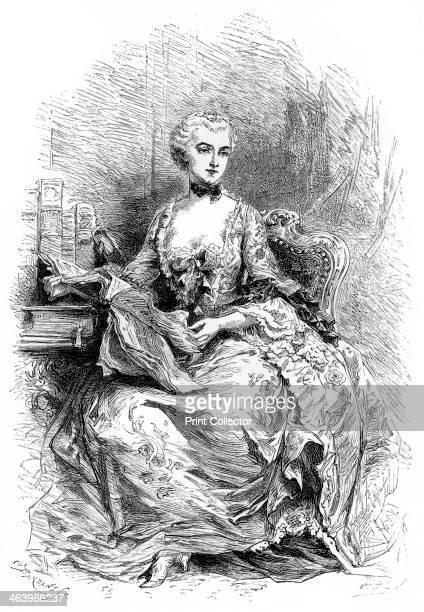 Madame de Pompadour Born JeanneAntoinette Poisson Madame de Pompadour was the mistress of Louis XV of France