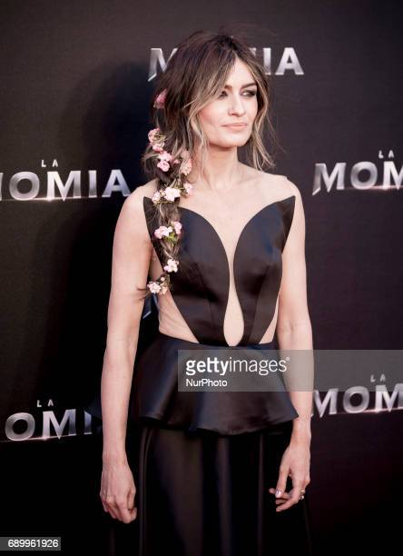 Madame de Rosa attends 'The Mummy' premiere at Callao Cinema on May 29 2017 in Madrid Spain