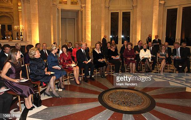 Madame Margerida Barroso Madame Bernadette Chirac Her Royal Highness the Duchess of Gloucester Queen Silvia of Sweden King Albert of Belgium and Quee...