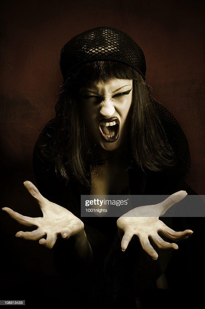 Madame Noir : Stock Photo
