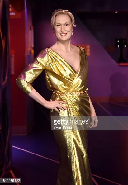 Madame Tussauds Hollywood unveils Meryl Streep on February 23 2017 in Hollywood United States