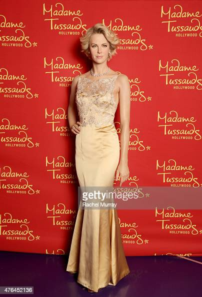 Madame Tussauds Hollywood welcomes Academy Award winning actress Charlize Theron in Wax on June 5 2015 in Hollywood California