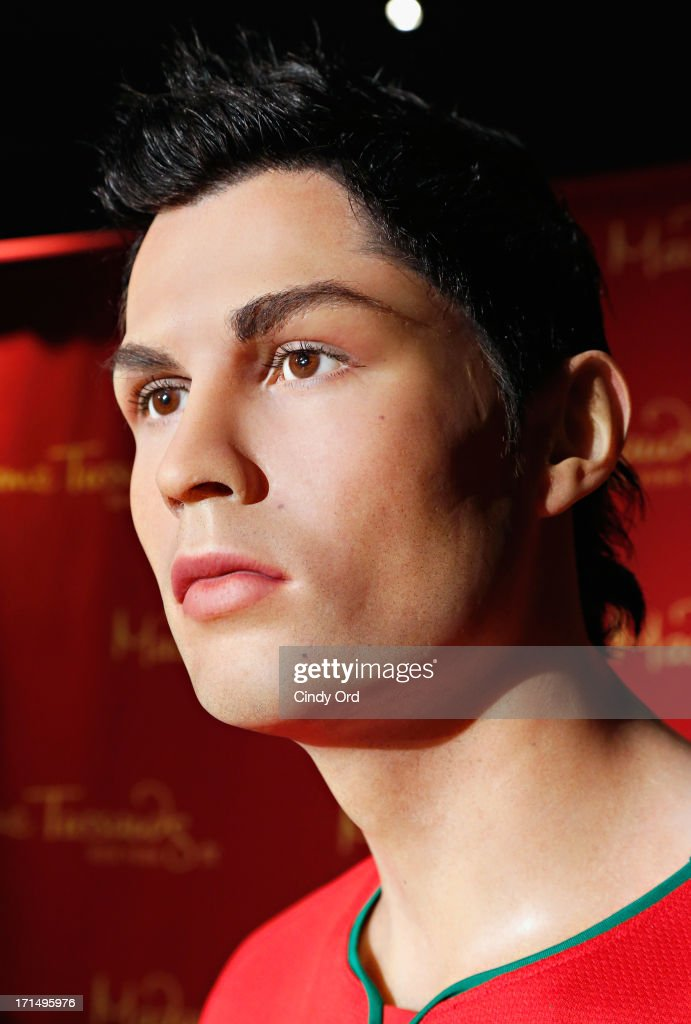 Madame Tussauds New York launches a <a gi-track='captionPersonalityLinkClicked' href=/galleries/search?phrase=Cristiano+Ronaldo+-+Soccer+Player&family=editorial&specificpeople=162689 ng-click='$event.stopPropagation()'>Cristiano Ronaldo</a> wax figure on June 25, 2013 in New York City.