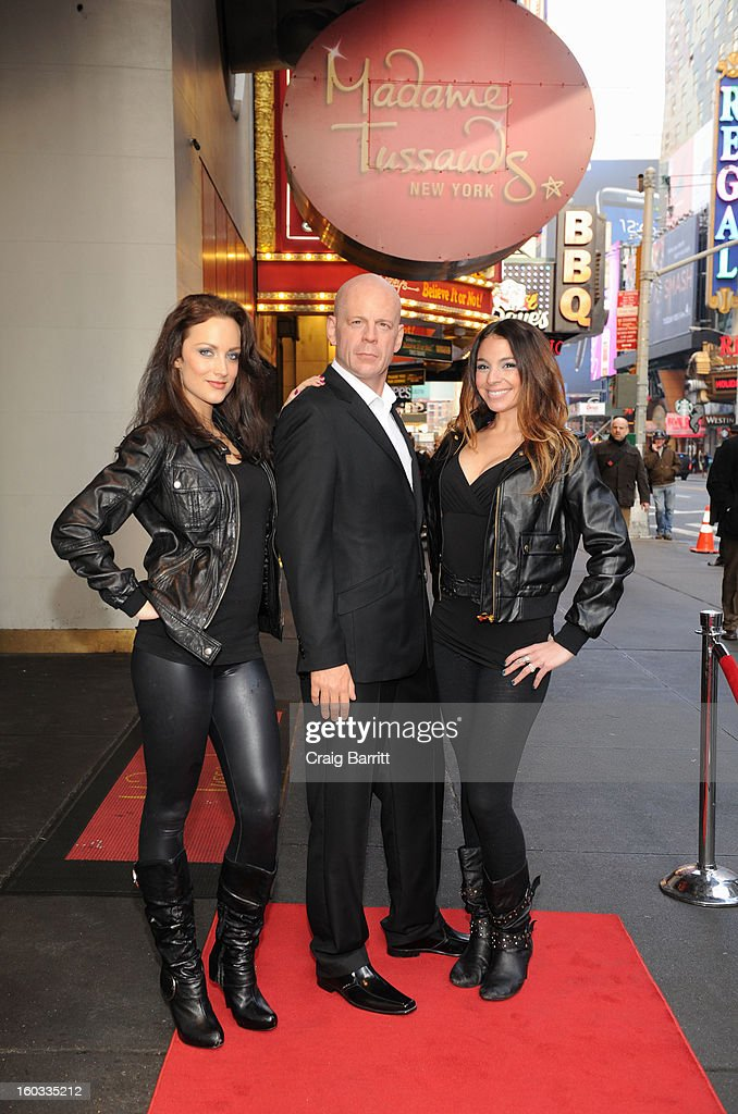 Madame Tussauds New York unveils a wax figure of actor <a gi-track='captionPersonalityLinkClicked' href=/galleries/search?phrase=Bruce+Willis&family=editorial&specificpeople=202185 ng-click='$event.stopPropagation()'>Bruce Willis</a> in Times Square on Tuesday, January 29, 2013 in New York City. Artists from the famed wax attraction took more than three months to complete the wax likeness, which was launched in time for the next 'Die Hard' installment, 'A Good Day to Die Hard'.