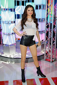 Madame Tussauds New York unveils new neverbeforeseen Selena Gomez wax figure at Madame Tussauds New York on August 7 2014 in New York City