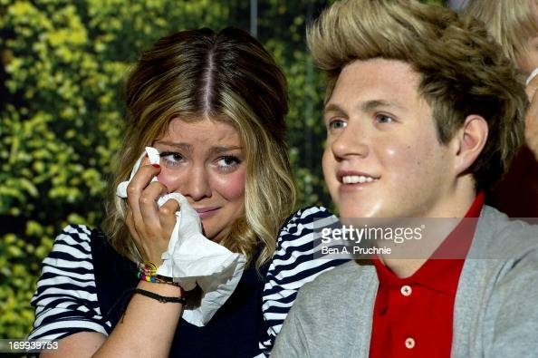 Madame Tussauds take delivery of a bulk order of tissues after One Direction fans began to break down on site of their heroes waxworks at Madame...