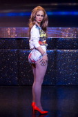 Madame Tussauds unveil a new look for the Jennifer Lopez waxwork ahead of her World Cup opening performance at Madame Tussauds on June 9 2014 in...