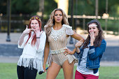 Madame Tussauds unveil a new wax figure of Beyonce at Regent's Park on August 20 2014 in London England