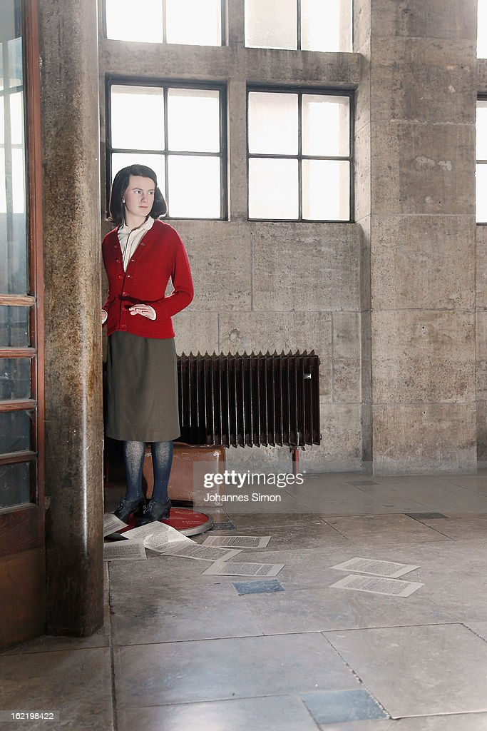 A Madame Tussauds wax effigy of Sophie Scholl, one of the most famous members of the German World War II anti-Nazi resistance movement, The White Rose is displayed near to one of the backside entrance doors at Ludwig Maximilian University on February 20, 2013 in Munich, Germany. Sophie Scholl, whose active opposition to the Nazis led to her execution 70 years ago, was a student at Munich University, where she printed and distributed anti-Nazi leaflets. To commemorate the day of her death, the wax effigy was moved to Munich for one day from Madame Tussauds wax cabinet at Berlin.