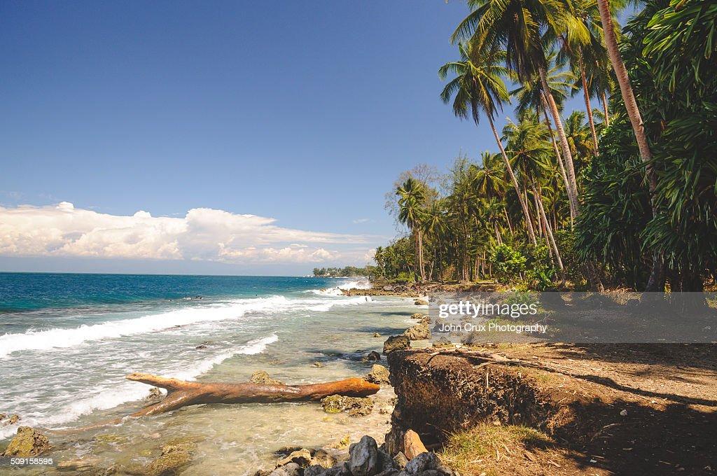 Madang beach