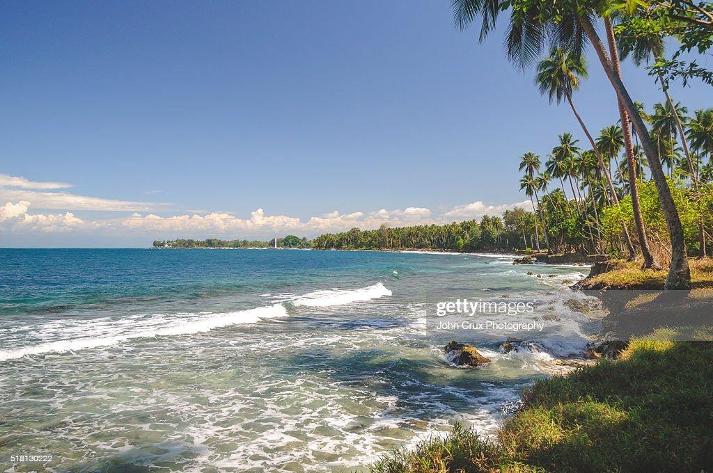 Madang beaches