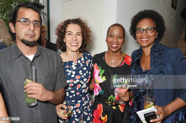 Madani Younis Alice Black Gaylene Gould and Barbara Wilson attend the Mayor of London's Summer Culture Reception on July 18 2017 in London England