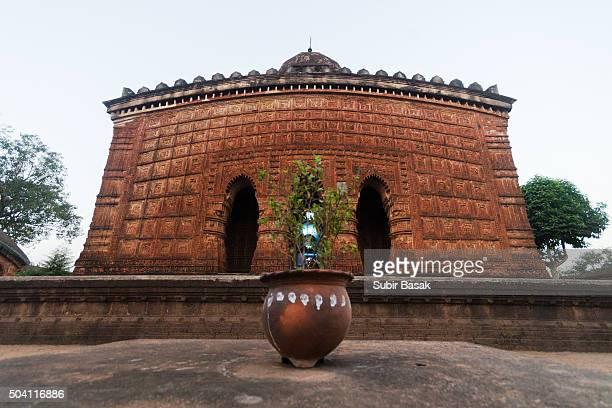 Madanmohan temple, 17th century terracotta temple,Bishnupur, West Bengal, India, Asia