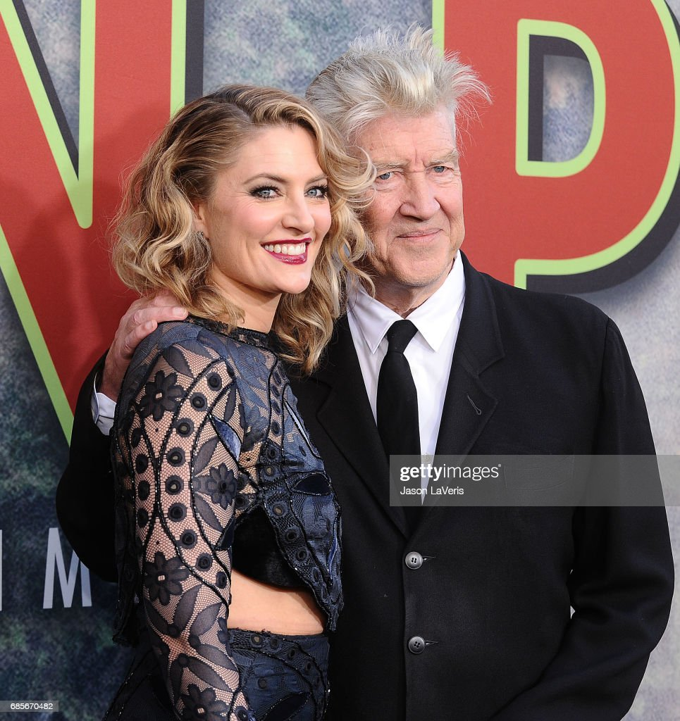 Madchen Amick and David Lynch attend the premiere of 'Twin Peaks' at Ace Hotel on May 19, 2017 in Los Angeles, California.