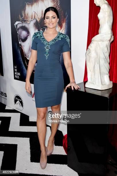 Madchen Amick attends the 'Twin Peaks' BluRay/DVD release party and screening at the Vista Theatre on July 16 2014 in Los Angeles California