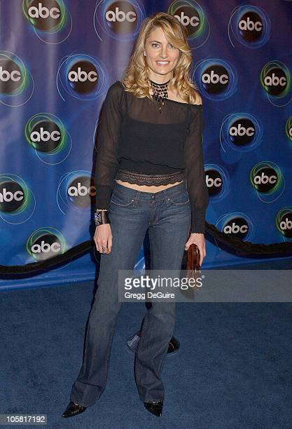 Madchen Amick during 2006 ABC Network AllStar Party Arrivals and Inside at The Wind Tunnel in Pasadena California United States