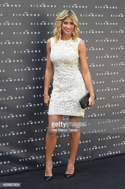 Maddalena Corvaglia attends on the John Richmond show during the Milan Fashion Week Womenswear Spring/Summer 2015 on September 21 2014 in Milan Italy