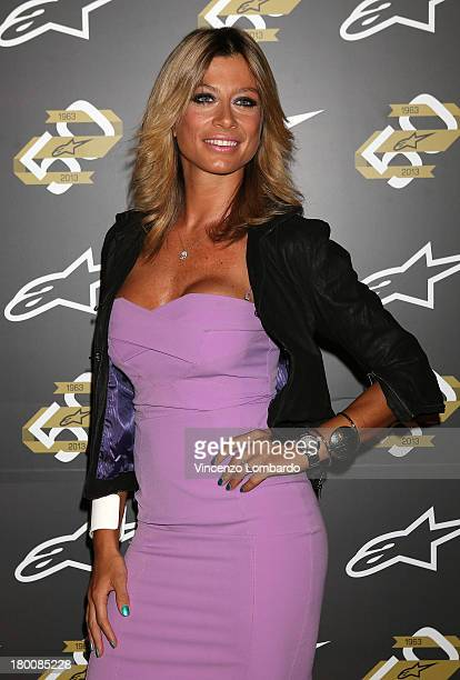Maddalena Corvaglia attends the Alpinestars 50th Anniversary Event at Progetto Calabiana on September 8 2013 in Milan Italy