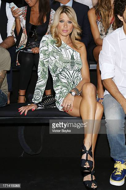 Maddalena Corvaglia attends the John Richmond show during Milan Menswear Fashion Week Spring Summer 2014 show on June 24 2013 in Milan Italy