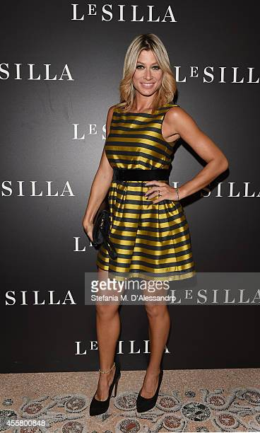 Maddalena Corvaglia attends the Le Silla Spring/Summer 2015 Collection Presentation as part of Milan Fashion Week Womenswear Spring/Summer 2015 on...