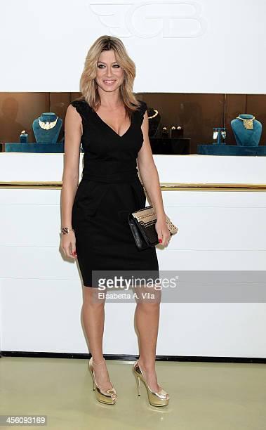 Maddalena Corvaglia attends the 'Luce Preziosa' presentation at the GB ENIGMA by Gianni Bulgari boutique on December 13 2013 in Rome Italy Luce...