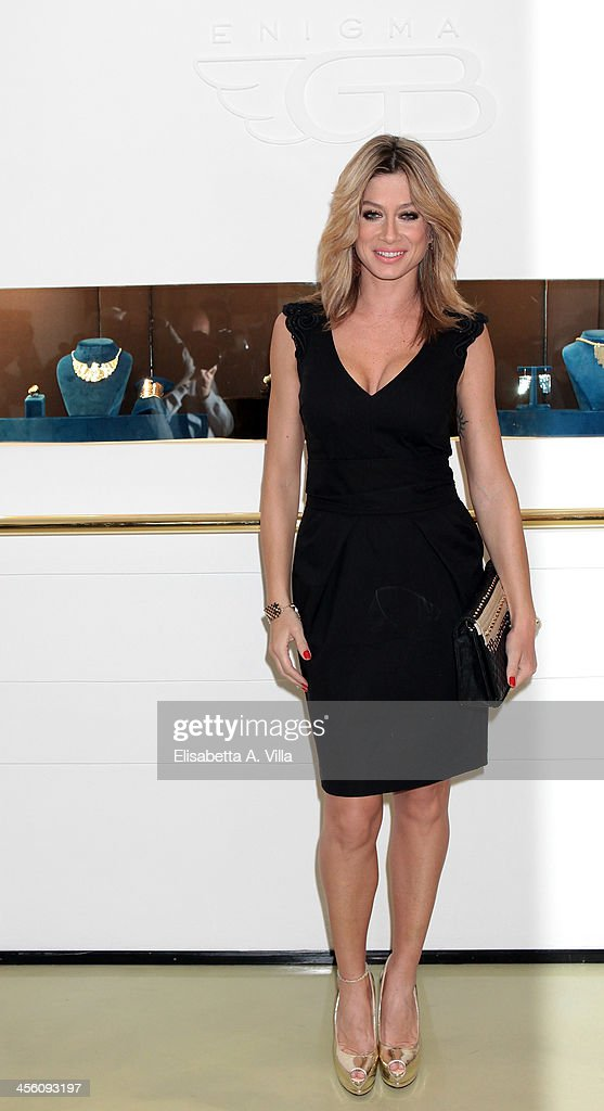 Maddalena Corvaglia attends the 'Luce Preziosa' presentation at the GB ENIGMA by Gianni Bulgari boutique on December 13, 2013 in Rome, Italy. Luce Preziosa is an inspiring christmas jewellery and light TechoArt opera by the artist Geo Florenti.