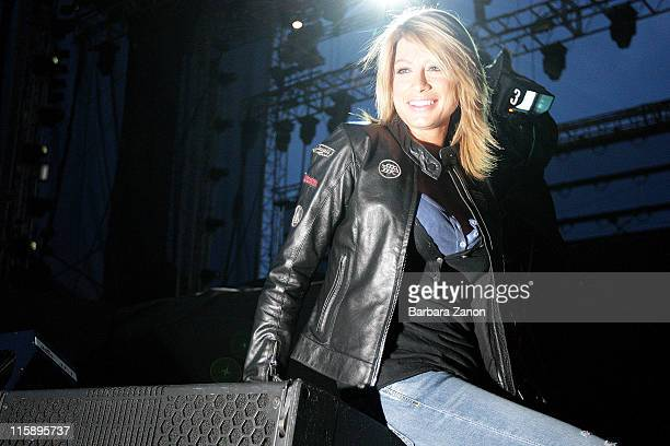 Maddalena Corvaglia attends the third day of Heineken Jammin Festival at Parco San Giuliano on June 11 2011 in Mestre Italy