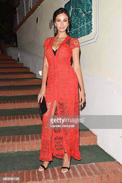 Maddalina Ghenea attends 2015 Ischia Global Film Music Fest Day 2 on July 14 2015 in Ischia Italy