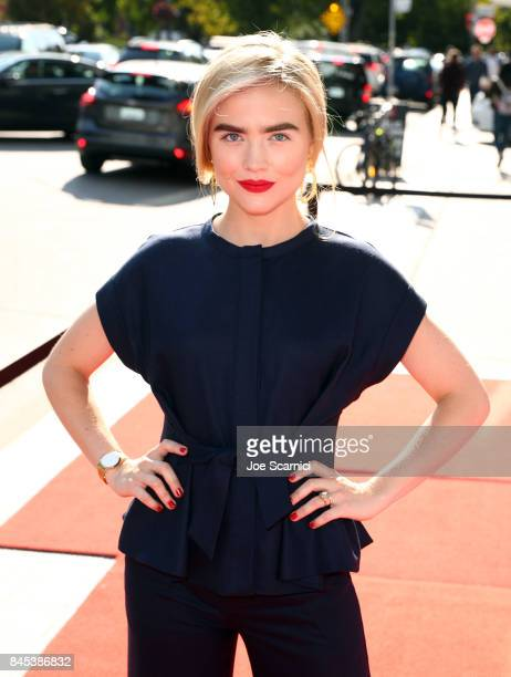 Maddie Hasson attends the Cocktail Reception for 'Novitiate' during the 2017 Toronto International Film Festival at Luckee Restaurant on September 10...