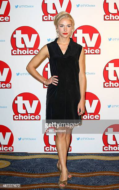 Maddie Hill attends the TV Choice Awards 2015 at Hilton Park Lane on September 7 2015 in London England