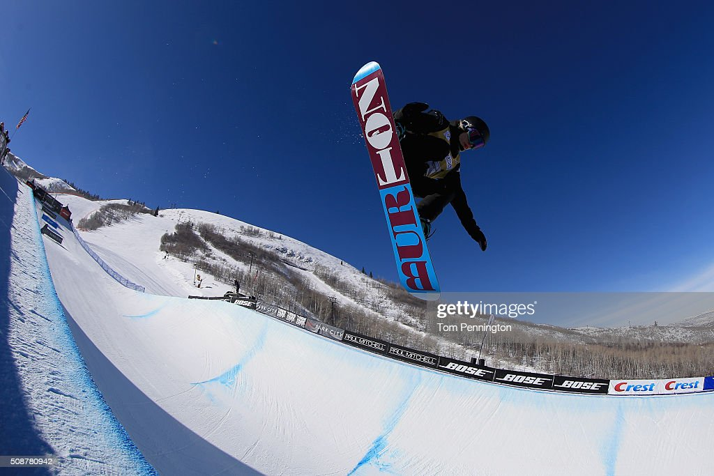 S. Snowboarding Park City Grand Prix - Snowboard Halfpipe ...