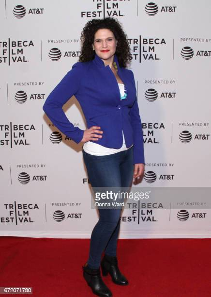 Maddie Shapiro attends Tribeca TV Pilot Season 'Black Magic For White Boys' showing during the 2017 Tribeca Film Festival at Cinepolis Chelsea on...