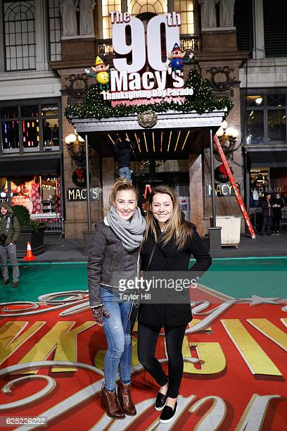 Maddie Tae perform during Macy's Thanksgiving Day Parade rehearsals at Macy's Herald Square on November 22 2016 in New York City