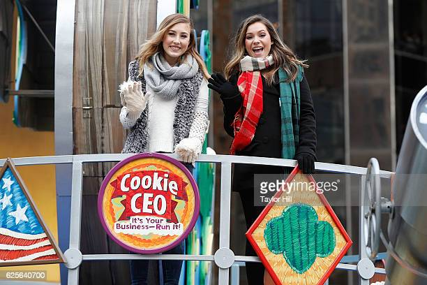 Maddie Tae ride in the Macy's Thanksgiving Day Parade on November 24 2016 in New York City
