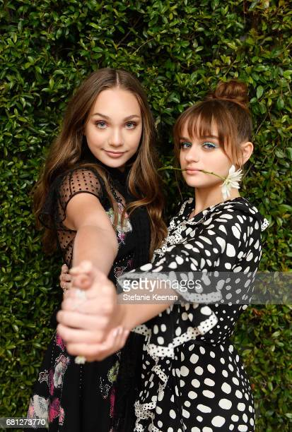 Maddie Ziegler and Joey King attend Marc Jacobs Fragrances and Kaia Gerber Celebrate DAISY on May 9 2017 in Beverly Hills California