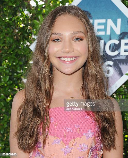 Maddie Ziegler arrives at the Teen Choice Awards 2016 at The Forum on July 31 2016 in Inglewood California